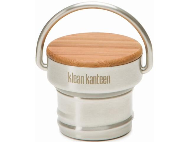 Klean Kanteen Bambus Acciaio inox Tappo per bottiglie Classic